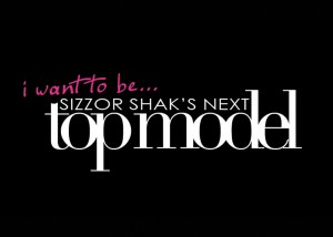top model card 300x214 Behind the Scenes   Sizzor Shaks Next Top Model