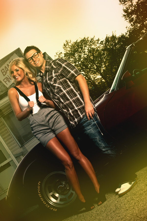 Kyle Weber with Hot Nerd Morgan Woolard Miss Oklahoma